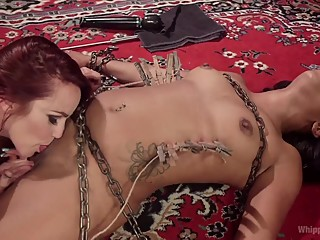 Mistress Bella's New Submissive Lesbian Sex Toy