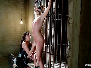 Maitresse Madeline PUNISHED and FUCKED and hazed in as director of Whipped
