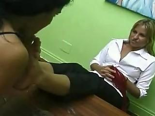 Brazilian Girls Playing With Feet - 04