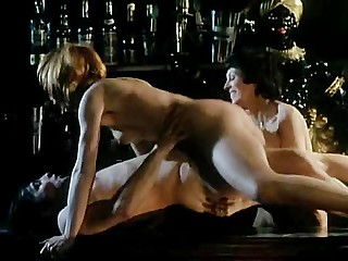 1970s porn film, hot and horny