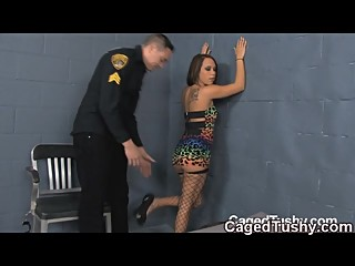 Your in jail now so wiggle your toes like you just don't care