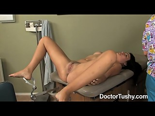 DoctorTushy 7th patient checkup for this female doctor