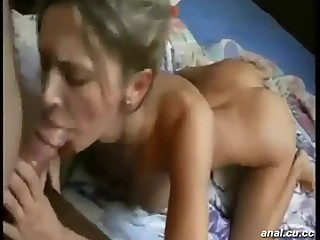 Bambi and anette playing lesbian fun at home