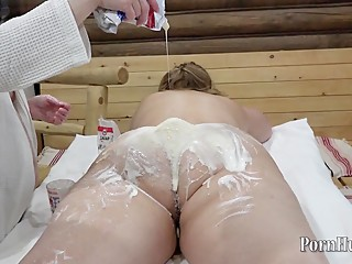 bbw fetish with food (part 2)