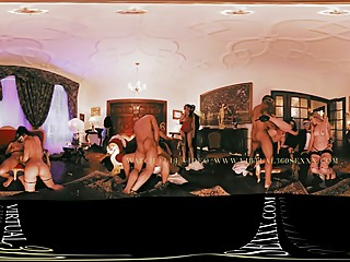 VR 360 swinger latin orgy