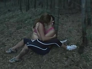 two girls kissing very deeply