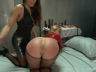 Spanked Latex