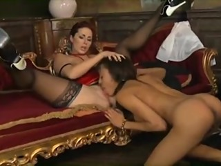 English LESBIAN FINISHING SCHOOL Principal Punishes&Seduces Girl to Orgasm