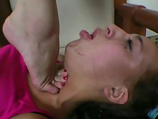 MFX lesbian trample hard