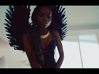 BABE HAS GOT A TEMPER - lesbian ebony femdom music video