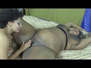 Ebony Pregnant Lesbian