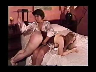 Hard Lesbian Spanking