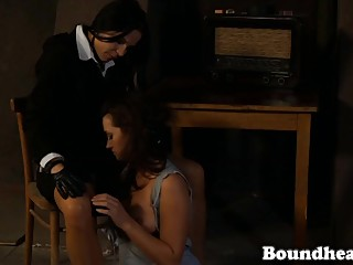 Lesbian Slave Whipped In Prison