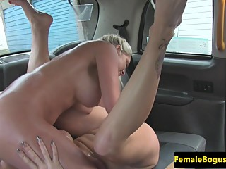 Lesbo taxidriver sixtynining babes wet cunt