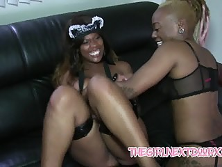 Brandi Sweets and Diamond Ortega tickle fest