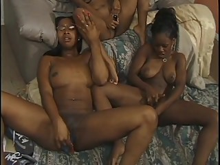 Black Lesbians With Toys