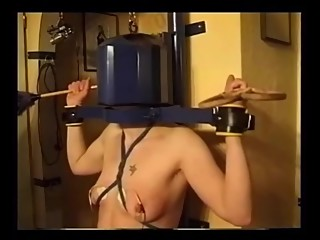 Lesbian pleasure and pain bdsm