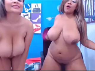 Big boobs lesbian twins