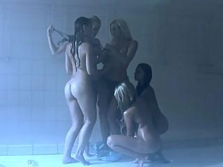 the Hottest Lez Shower Scene Ever!