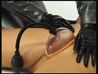 Two Female Mistresses With Slave Girl