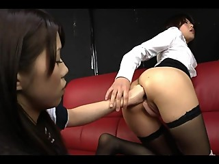 Japanese lesbian anal fisting