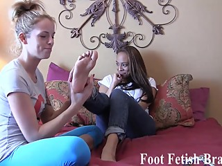 I will give you free yoga lessons if you rub my feet