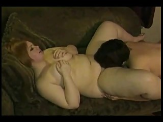 2 Horny Fat Chubby BBW Lesbian GF's having fun