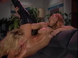 Nina Hartley hot lesbian scene