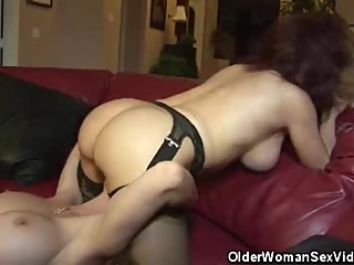 Busty Matures June And Vanessa Lesbian Action