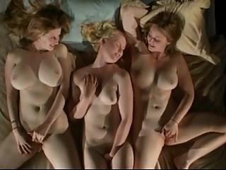 A masturbating trio.
