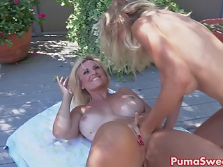 Puma Swede Surprises Bobbi With a Lesbian Surprise!