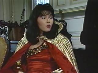 The female villain has plans for the nymphomaniac laser.