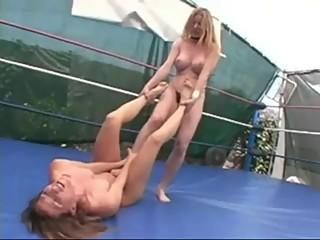 Topless Ring Wrestling (2)