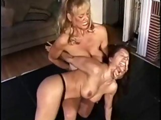 Fake Boob Battle - Old vs Young