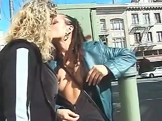My Sexy Piercings - pierced lesbians public nudity fucking
