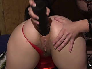 milf rigidly fuck in the ass young girl with hairy pussy