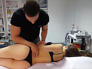 Super sexy Osteopathic Adjustment