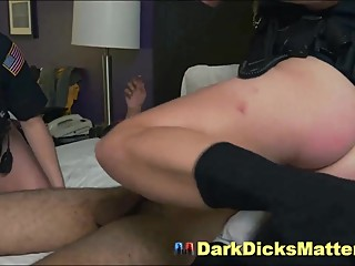 Milf Female Cops Suck Suspect With Big Ebony Dick