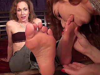 Aunt Foot Worship