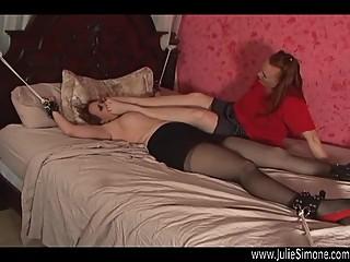 lesbians feet slaves