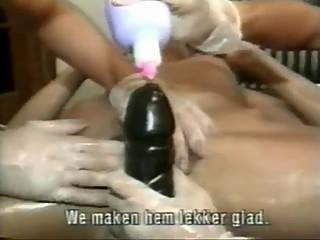Lesbian mid 90s Buttslammers 3