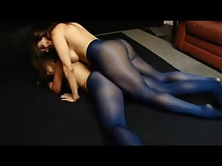 Pantyhose Play