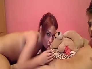 Teen having sex in front of cam MORE CAMCUM.ORG