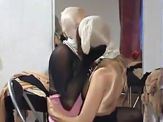 Encasement lesbian 1