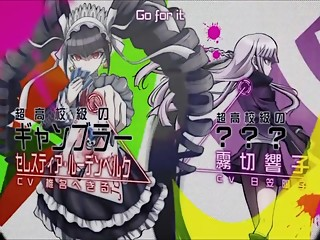 DanganRonpa: The Animation OP OPENING