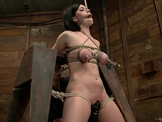 Belle Noire Worked Over By A Beautiful Domme