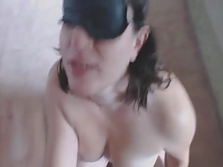 wife gets a facial